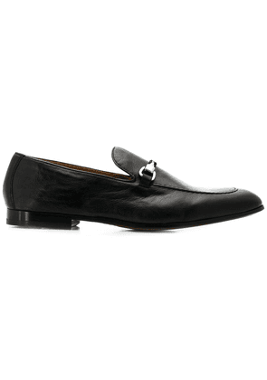 Doucal's buckled loafers - Black