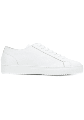 Doucal's lace-up sneakers - White