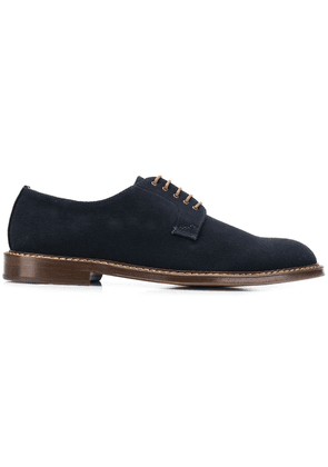 Doucal's classic oxford shoes - Blue