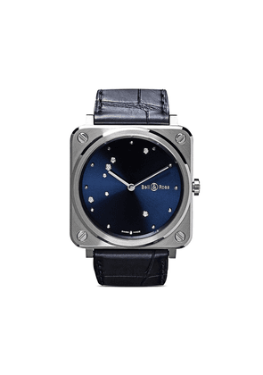 Bell & Ross BR S Diamond Eagle 39mm - Midnight Blue B Pearlescent