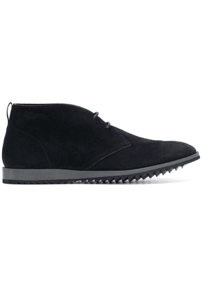 Car Shoe fitted lace-up boots - Blue