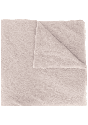 Botto Giuseppe textured scarf - Neutrals