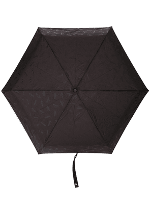 Moschino logo print umbrella - Purple