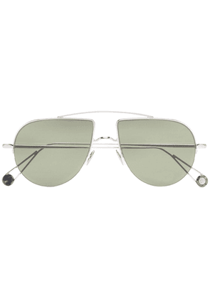 Ahlem silver Place d'Aligre aviator frame sunglasses - Metallic