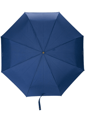 Moschino pinstriped umbrella - Blue