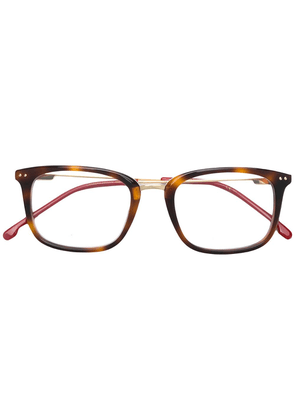 Carrera tortoiseshell square frame glasses - Brown