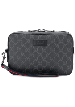 Gucci GG Supreme wash bag - Black