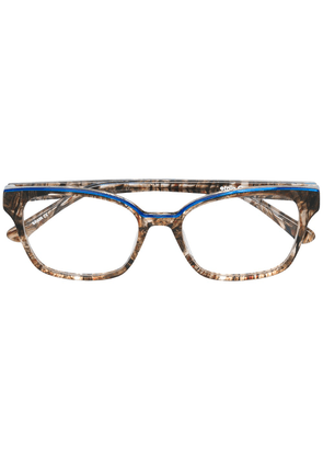 Etnia Barcelona rectangular glasses - Brown