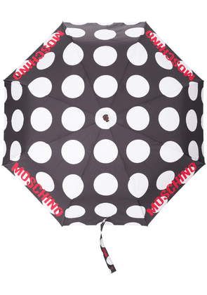 Moschino polka-dot print umbrella - Black
