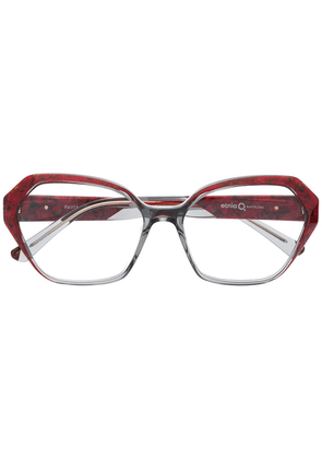 Etnia Barcelona Pavia square frame glasses - Red