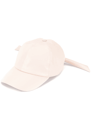 Federica Moretti knot-detailed baseball cap - Pink