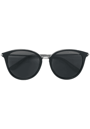 Bottega Veneta Eyewear circle tinted sunglasses - Black