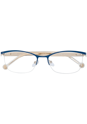 Ch Carolina Herrera rectangular shape glasses - Neutrals