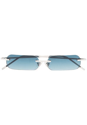 Blyszak Blue and silver Francois Russo sunglasses - Green