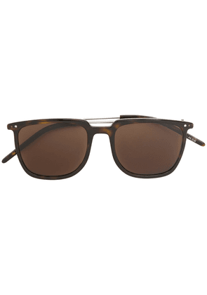 Delirious square-frame tinted sunglasses - Brown