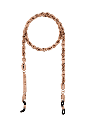 Frame Chain rose gold-plated Hey Shorty fat roller chain