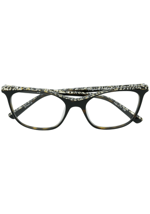 Etnia Barcelona low cat-eye glasses - Black