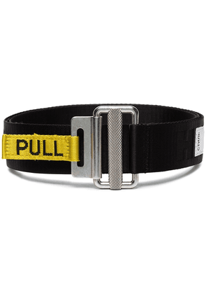 Heron Preston Logo utility belt - Black