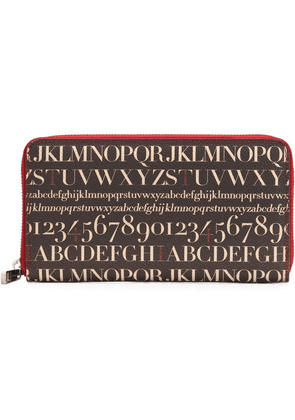 Assouline 'Didot' wallet - Brown