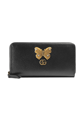 fde3b74446dc8b Gucci Leather wallet with bow | Neutrals | MILANSTYLE.COM