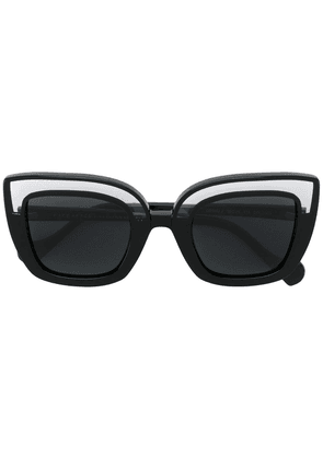 Face À Face cat eye sunglasses - Black
