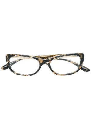 Dolce & Gabbana Eyewear cat eye glasses - Black