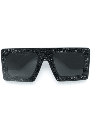 Anna Karin Karlsson Mother Beep sqaure sunglasses - Black