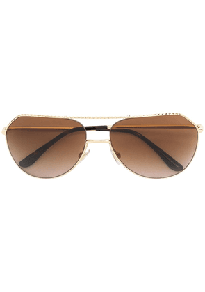 Dolce & Gabbana Eyewear aviator sunglasses - Yellow