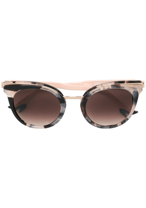 Face À Face cat eye sunglasses - Neutrals