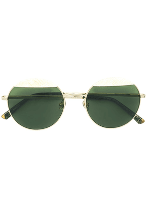 Etnia Barcelona Wolseley polarised sunglasses - Metallic