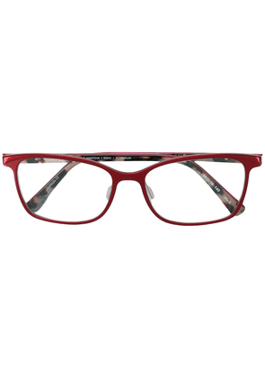 Etnia Barcelona square shaped glasses - Red