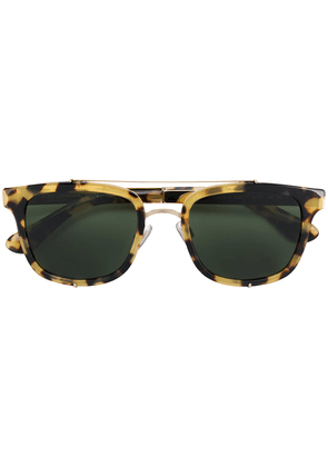 Dolce & Gabbana Eyewear square sunglasses - Metallic