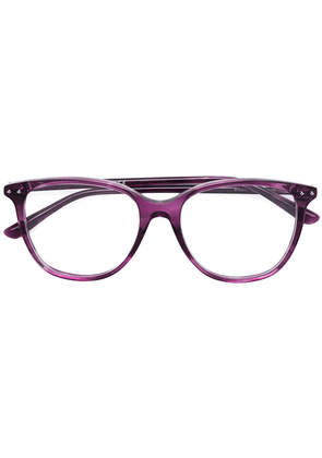 Bottega Veneta Eyewear round shaped glasses - Pink