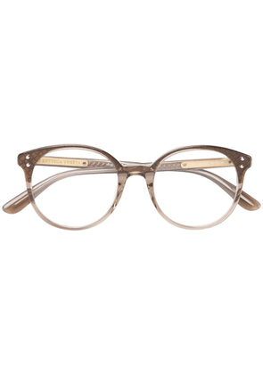 Bottega Veneta Eyewear round frame glasses - Neutrals