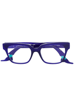 Face À Face Shoe square framed glasses - Blue