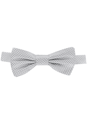 Dolce & Gabbana woven patterned bow tie - Grey