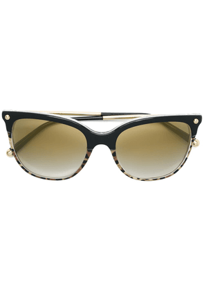 Dolce & Gabbana Eyewear cat eye sunglasses - Black