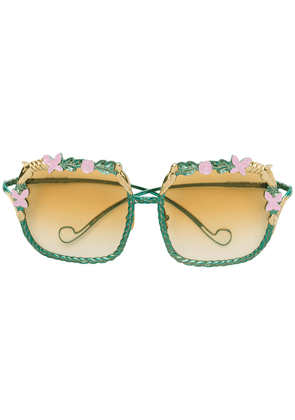 Anna Karin Karlsson The Garden sunglasses - Green