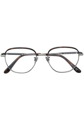 Bottega Veneta Eyewear round shaped glasses - Metallic