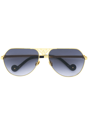 Anna Karin Karlsson The Art Deco aviator sunglasses - Metallic