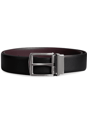 Burberry Reversible Leather Belt - Black