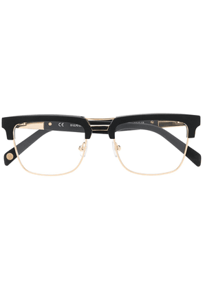 67de2dcc38 Balmain rectangular frame glasses - Black