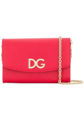 Dolce & Gabbana crossbody wallet bag - Red