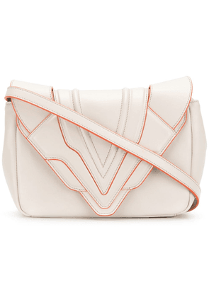 Elena Ghisellini Felina small shoulder bag - Neutrals