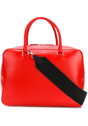 Jil Sander all-around zipped tote - Red