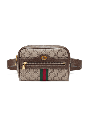Gucci brown Ophidia GG Supreme small belt bag - Neutrals