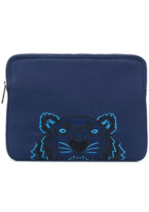 Kenzo Tiger laptop bag - Blue