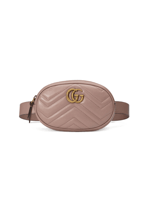 Gucci GG Marmont matelassé belt bag - Neutrals