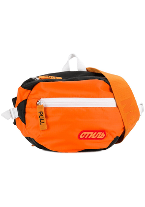 Heron Preston shell belt bag - Orange