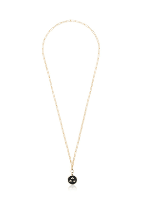 Foundrae three crown 18kt gold necklace